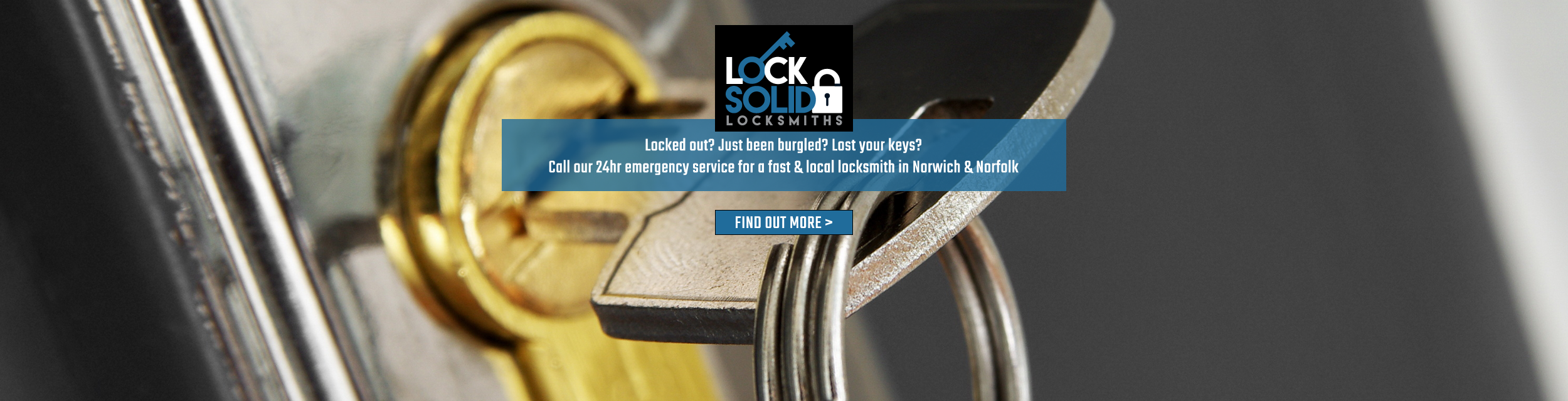 LockSolid Locksmiths Norwich | 24 Hour Emergency Locksmiths - Locked out? Just been burgled? Lost your keys? Call our 24 hour emergency service for a fast & local locksmith in Norwich & Norfolk. Click to find out more!